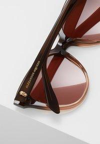 Alexander McQueen - Sonnenbrille - brown - 4