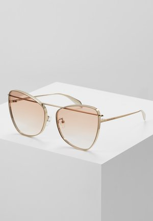 Sonnenbrille - gold/orange