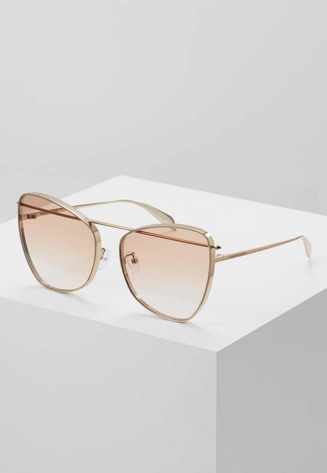 Sunglasses - gold/orange