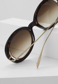 Alexander McQueen - Sonnenbrille - havana/gold - 3