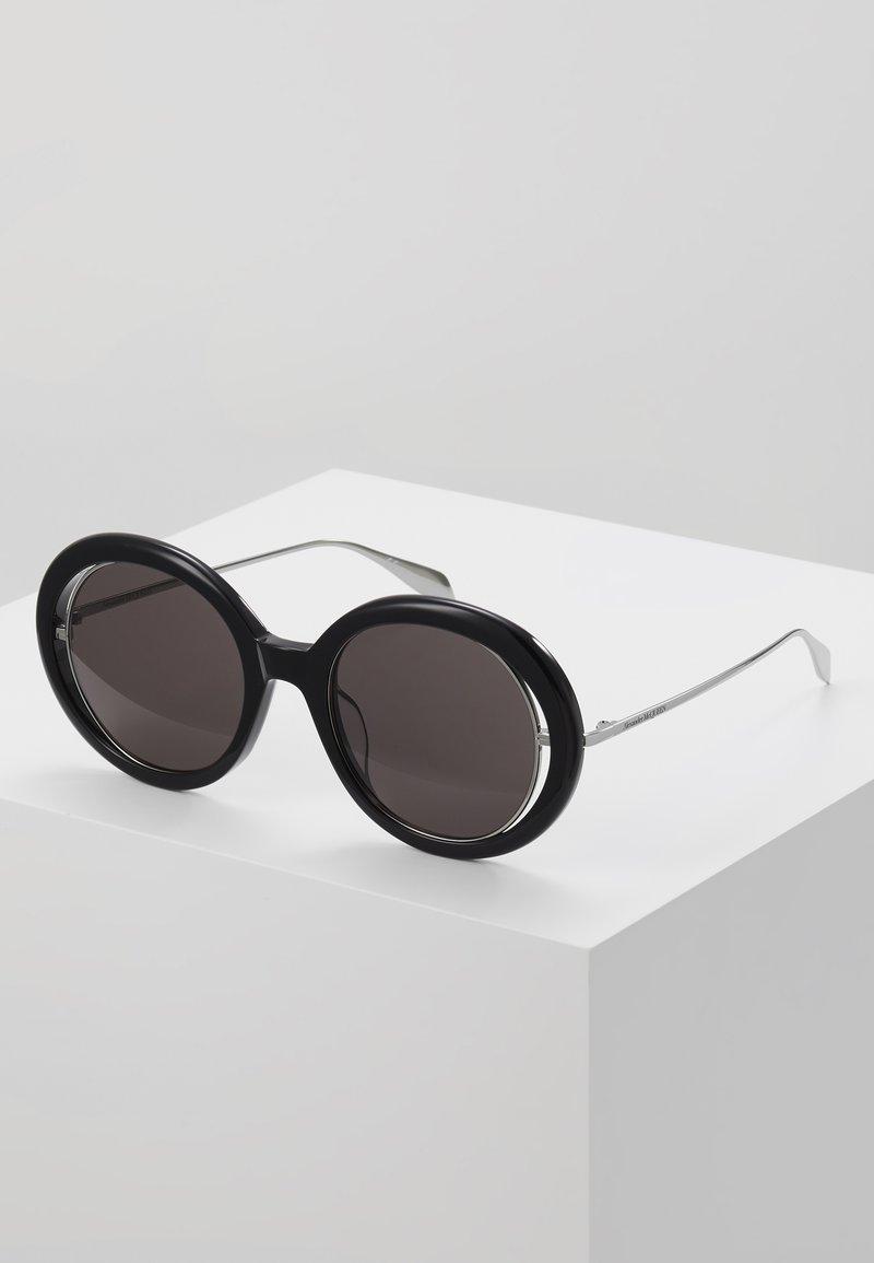 Alexander McQueen - Sunglasses - black/grey
