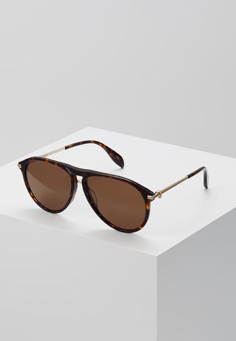 Alexander McQueen - Solbriller - brown