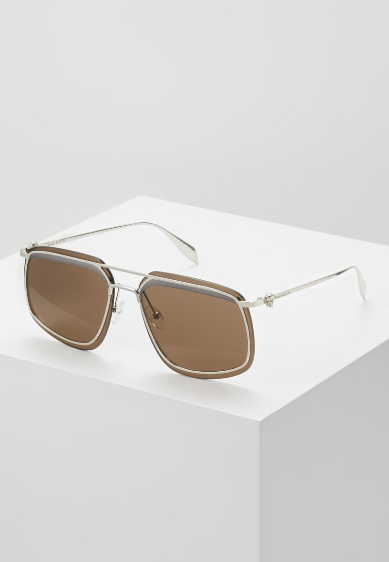 Alexander McQueen - Sunglasses - silver-coroured