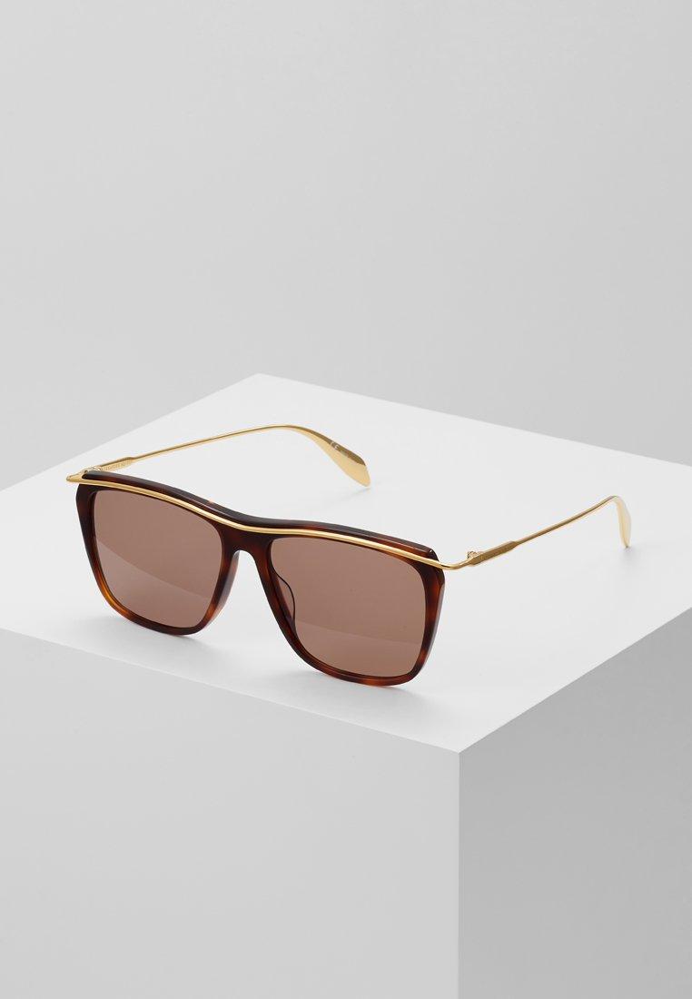 Alexander McQueen - Sonnenbrille - brown