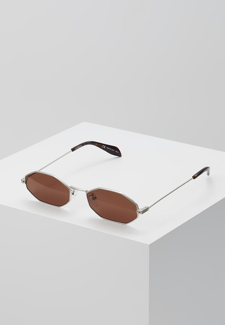 Alexander McQueen - Gafas de sol - silver-coloured
