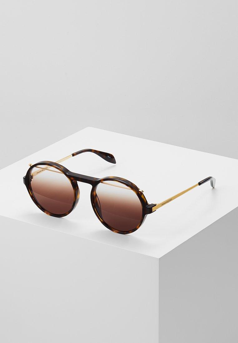 Alexander McQueen - Gafas de sol - havana brown