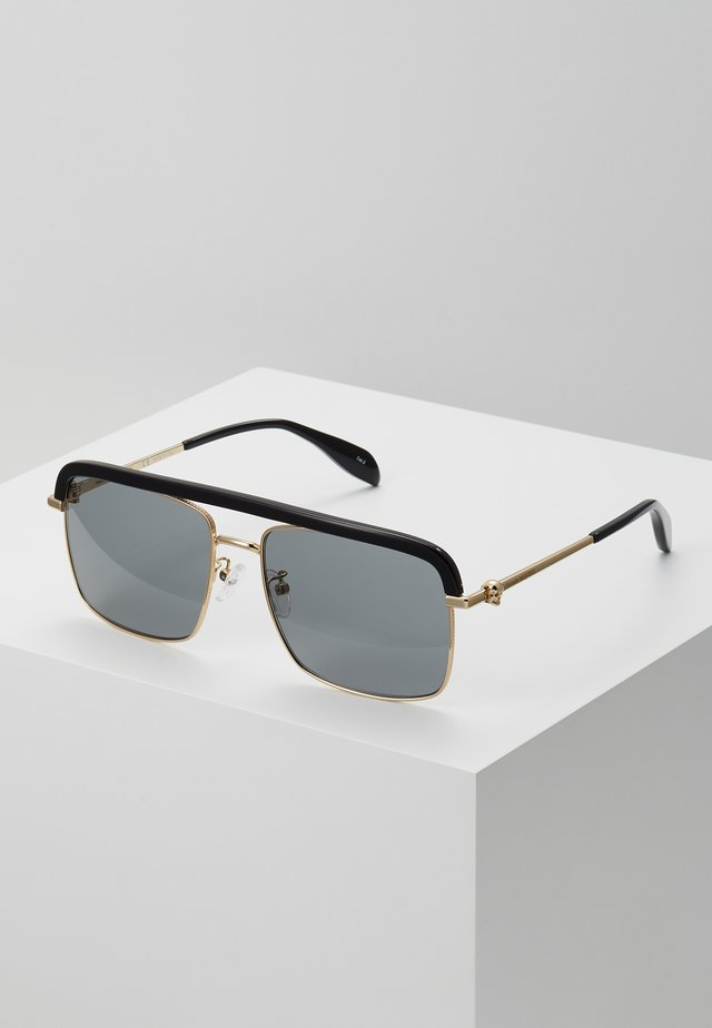 SUNGLASS MAN  - Sonnenbrille - gold-coloured/grey