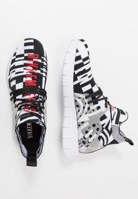 Bikkembergs - FINNEGAN - Sneakers alte - black/white - 1