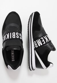 Bikkembergs - HALED - Mocassins - black/white - 1