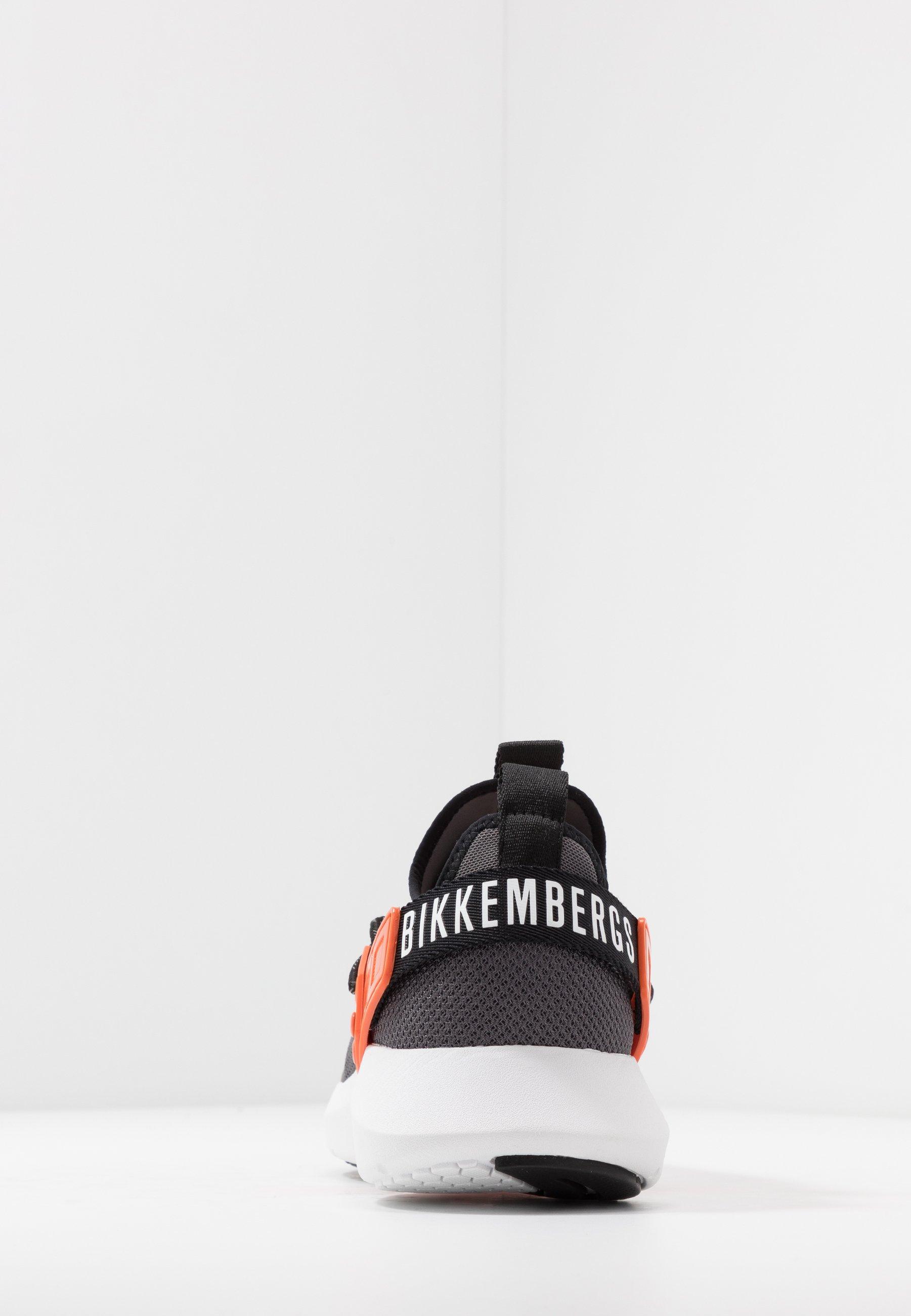 Bikkembergs GREGG - Baskets basses - melange/orange