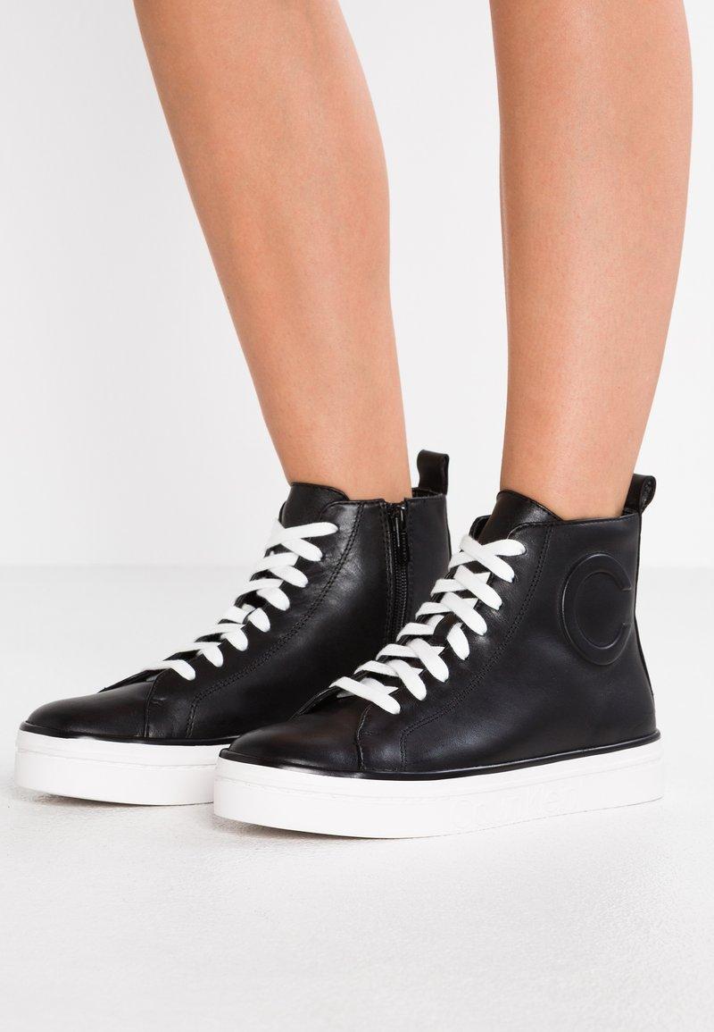 Calvin Klein - KATRICE - High-top trainers - black