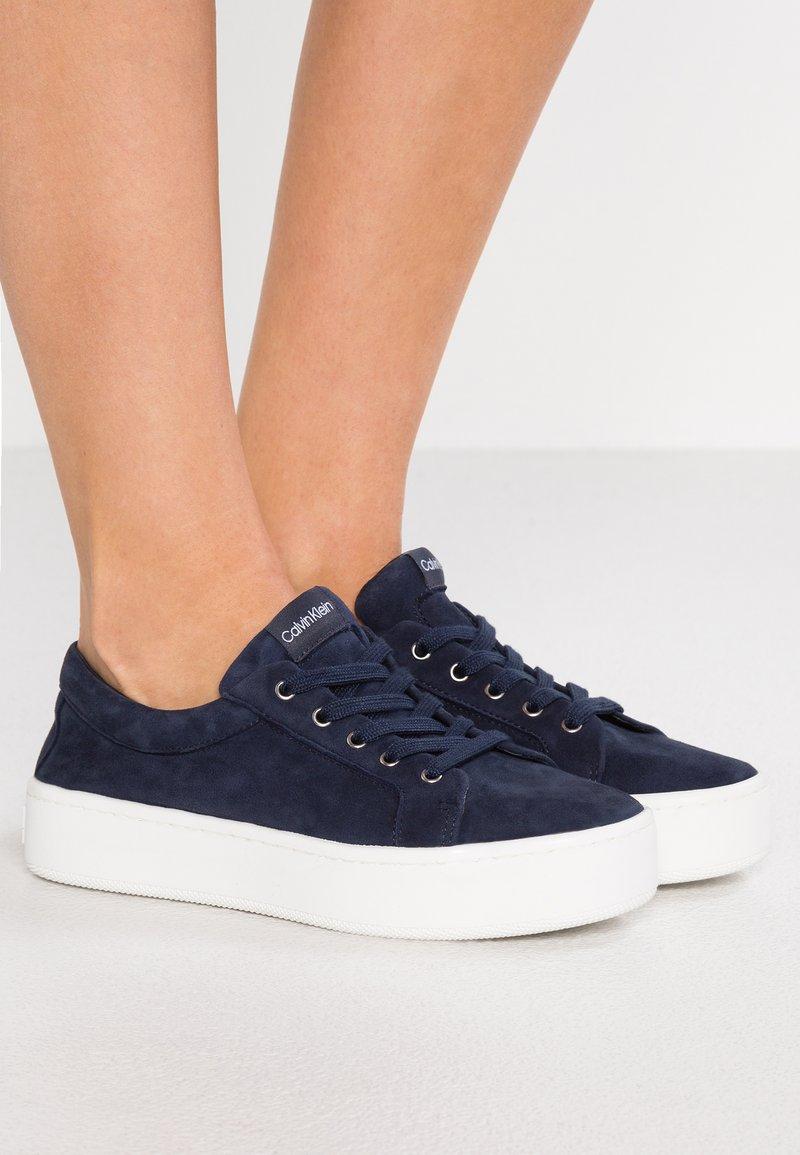 Calvin Klein - CORRICA - Sneakers laag - navy