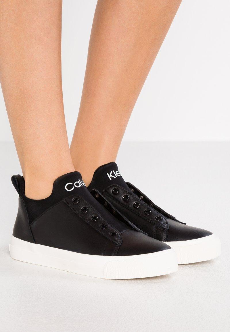 Calvin Klein - VALORIE - Sneakers high - black