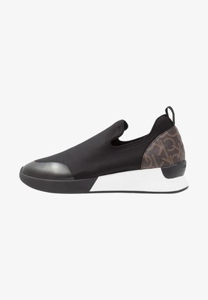 Loafers - black/brown