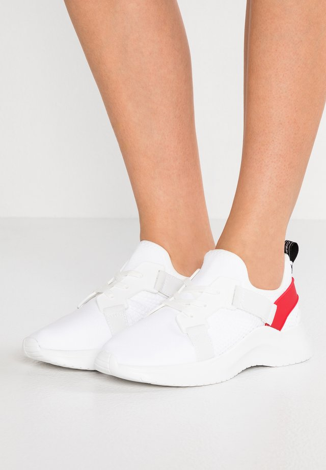 URBI - Sneakers - white/cherry