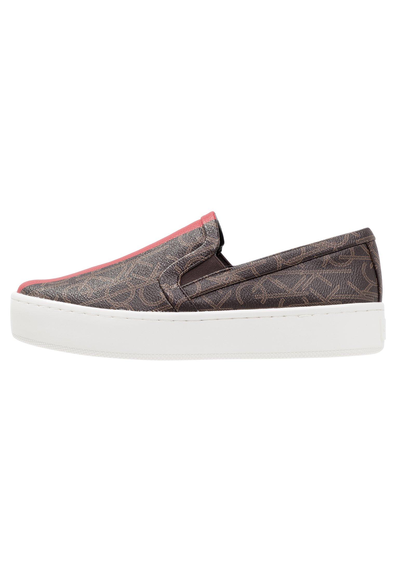 Calvin Klein CHANTELL - Scarpe senza lacci - brown