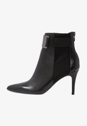 Kotníkové boty - black/gunmetal