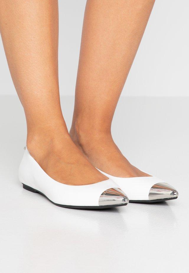 MELO - Ballet pumps - white