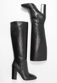 Calvin Klein - LUNA - Korolliset saappaat - black - 3
