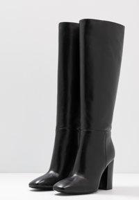 Calvin Klein - LUNA - Korolliset saappaat - black - 4