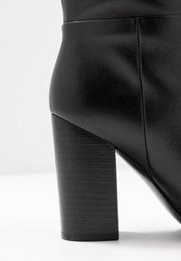 Calvin Klein - LUNA - Korolliset saappaat - black - 2
