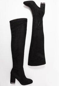 Calvin Klein - MONIFAH - Over-the-knee boots - black - 3