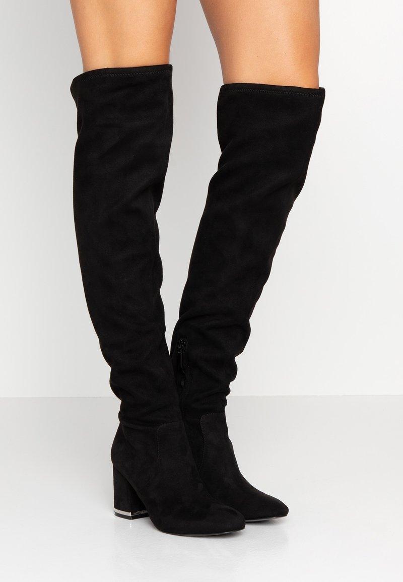 Calvin Klein - MONIFAH - Over-the-knee boots - black