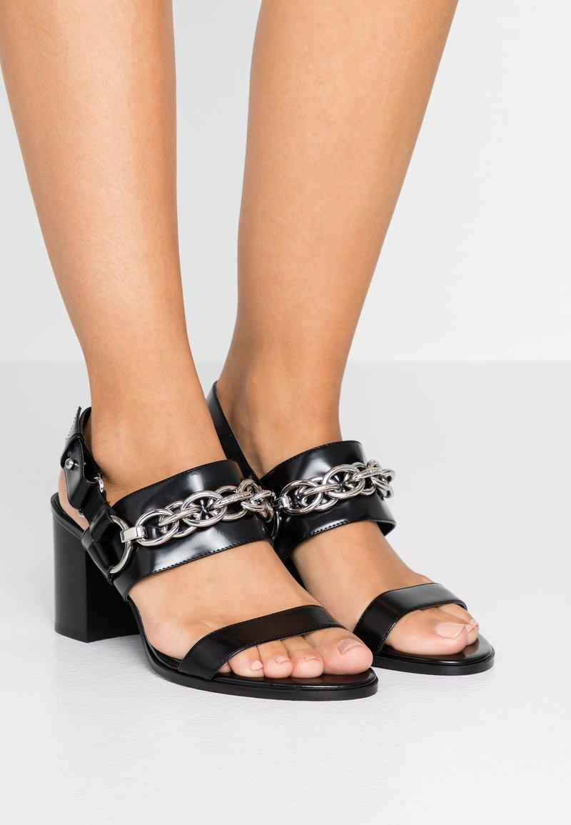 Calvin Klein - CASEY - Sandaler - black