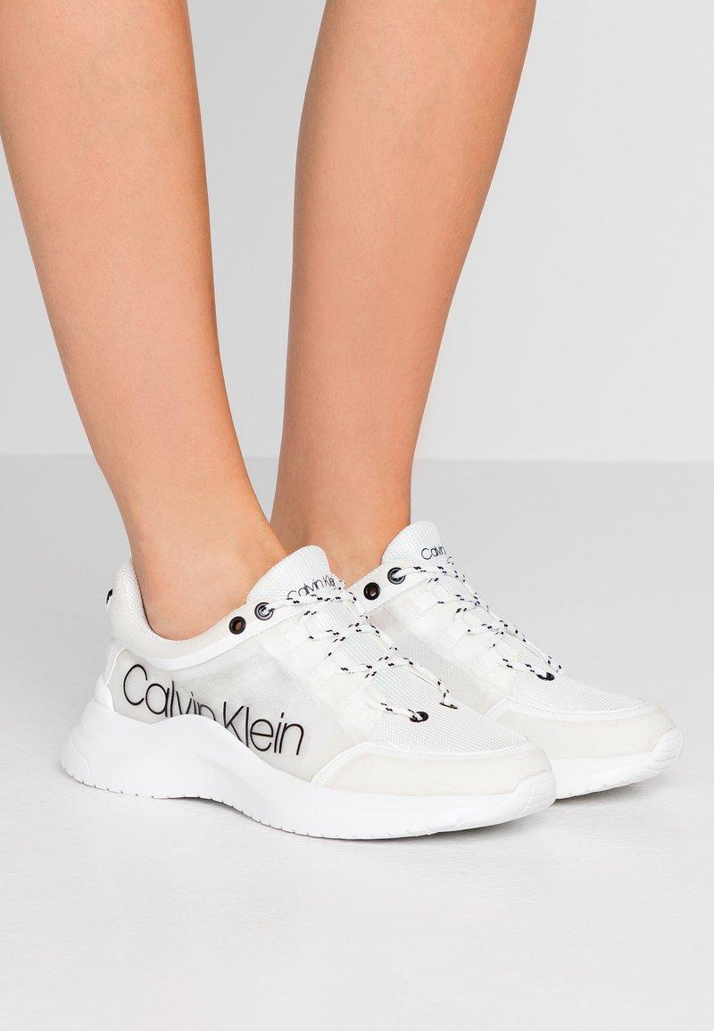 Calvin Klein - UBIE - Baskets basses - white