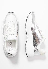 Calvin Klein - BRADIE - Sneaker low - silver - 3