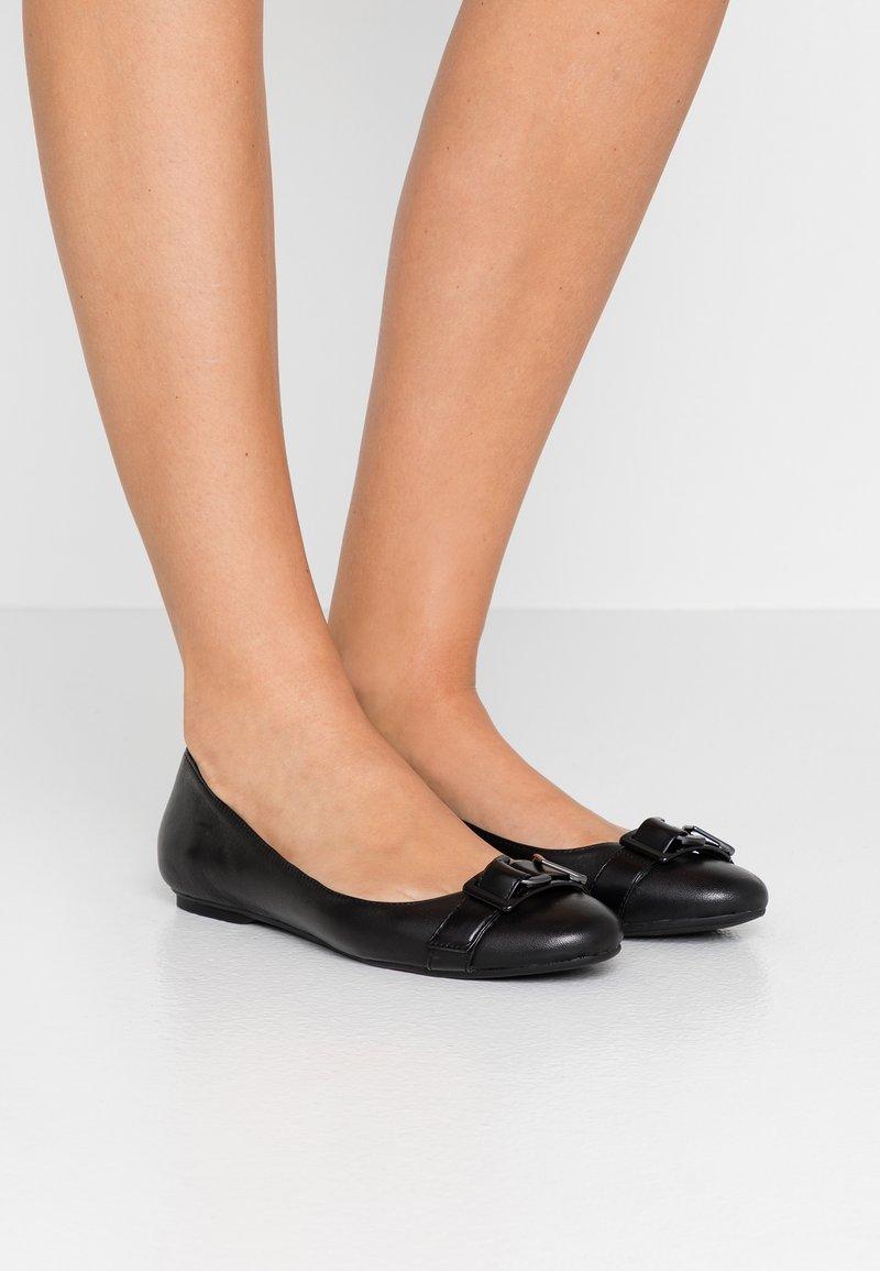 Calvin Klein - ORION - Ballet pumps - black