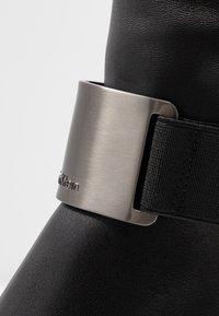 Calvin Klein - GENNIE - Over-the-knee boots - black/gunmetal - 2