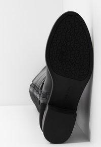 Calvin Klein - GENNIE - Over-the-knee boots - black/gunmetal - 6