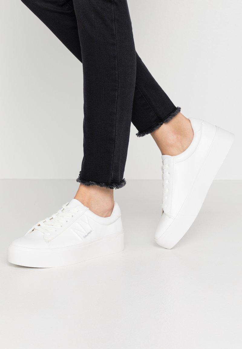 Calvin Klein - JAMELLA - Sneakers - white