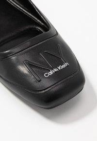 Calvin Klein - EBONI - Baleríny - black - 2