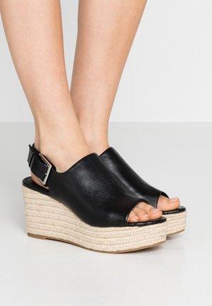 CINXIA - High heeled sandals - black