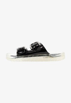 LAGUNA - Pantofle - black