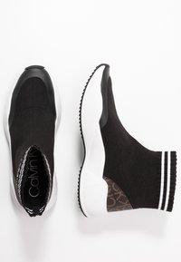Calvin Klein - BABELE - Vysoké tenisky - black - 3