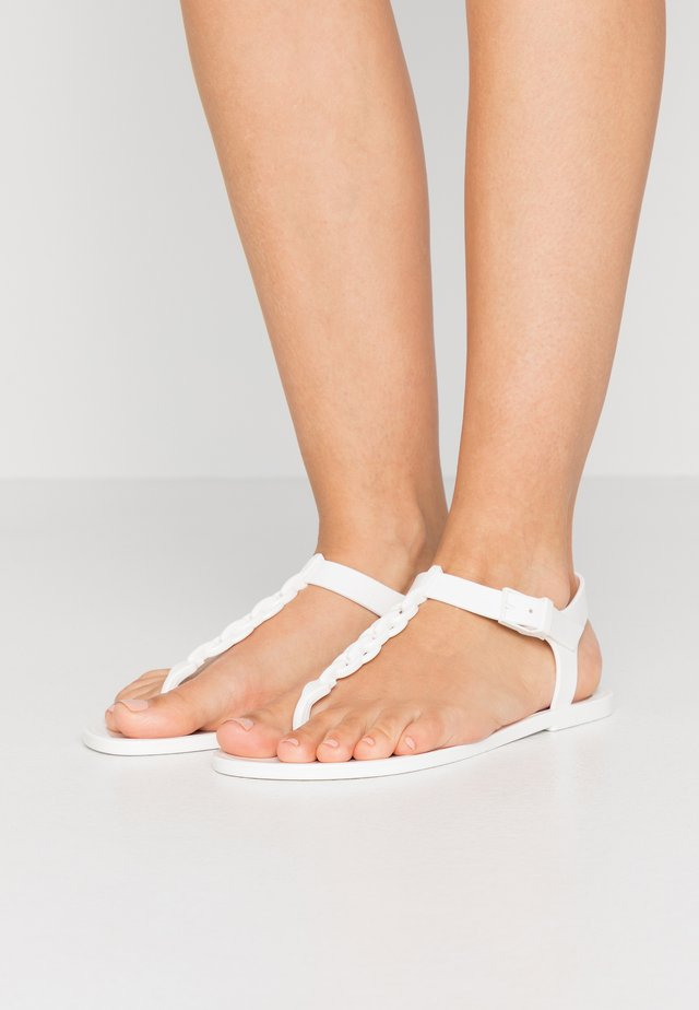 JORA - Teenslippers - white