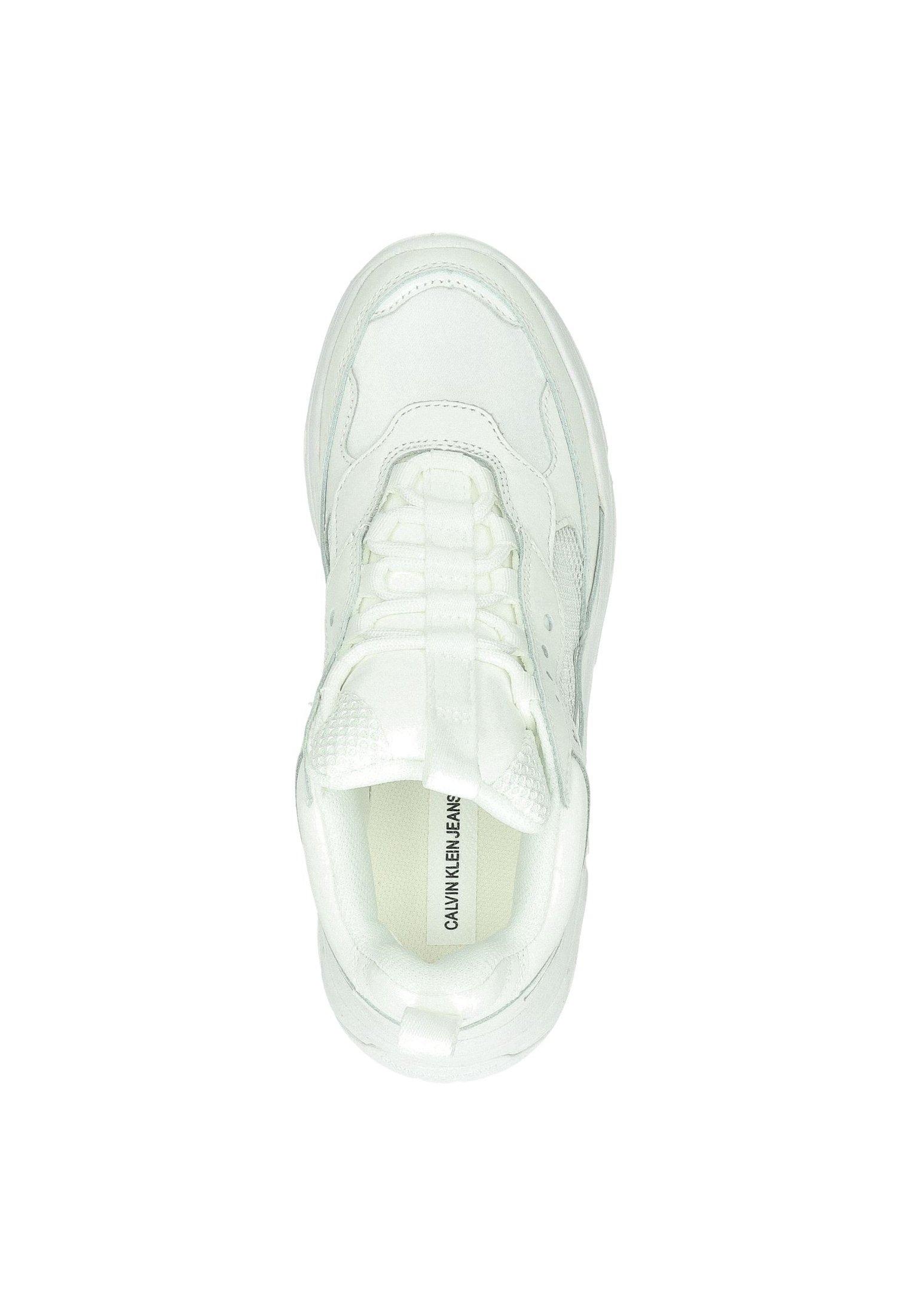 Calvin Klein Sneakers Laag - Wit Goedkope Schoenen