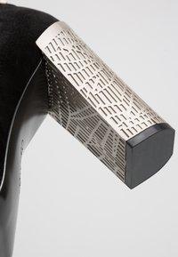 Calvin Klein - NEEMA - Lodičky na vysokém podpatku - black - 2