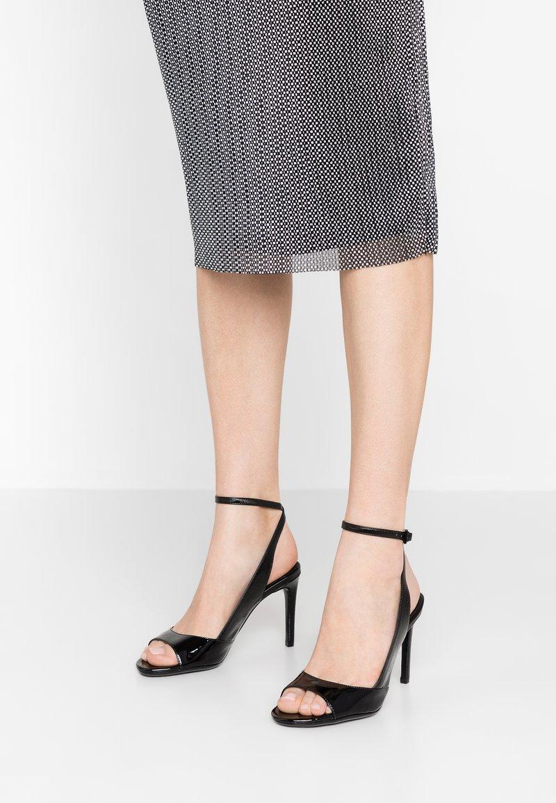 Calvin Klein - RAD - High heeled sandals - black