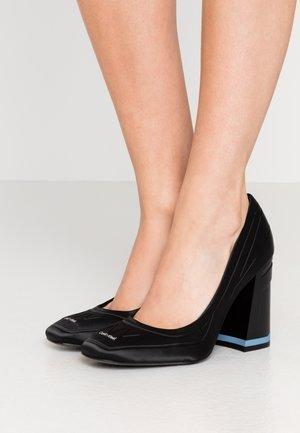 RETHA - Lodičky na vysokém podpatku - black
