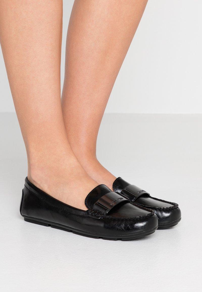 Calvin Klein - LASSEY - Moccasins - black