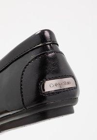 Calvin Klein - LASSEY - Mokkasiner - black - 2