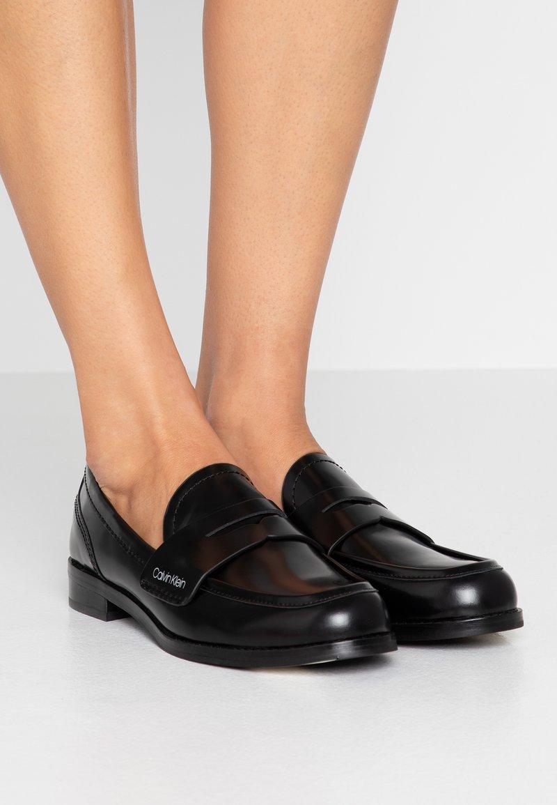 Calvin Klein - SHANTI - Mocasines - black