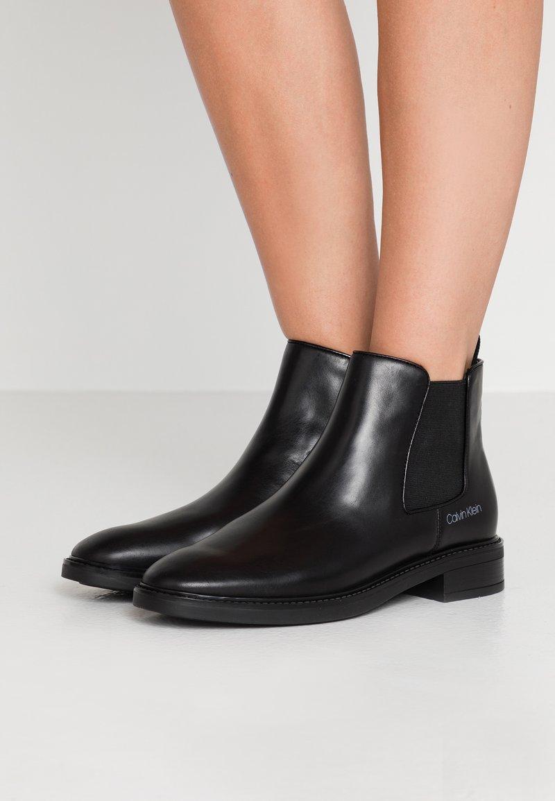 Calvin Klein - FRANCA - Ankle Boot - black