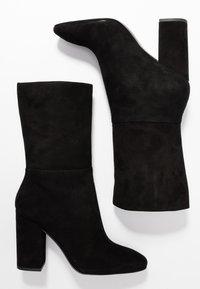 Calvin Klein - LORAH - Kozačky na vysokém podpatku - black - 3