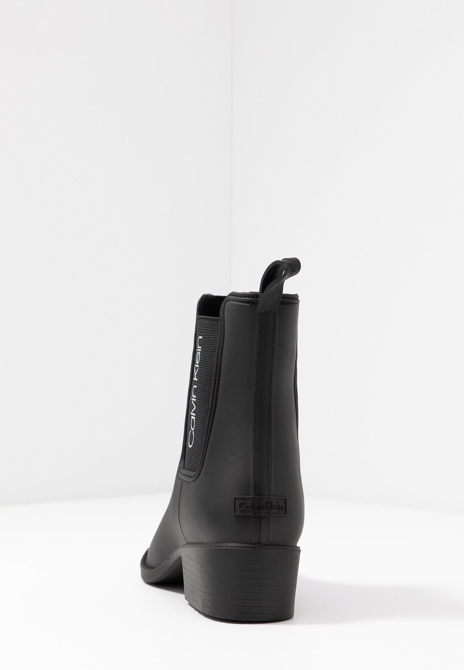 Calvin Klein QUARTA Stivali di gomma black Zalando.it