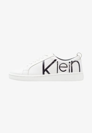 DANYA - Sneakers laag - white/black
